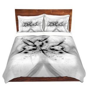 Artistic Duvet Covers and Shams Bedding | Angelina Vick - God Particle 1 | abstract digital pattern