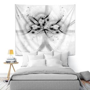 Artistic Wall Tapestry | Angelina Vick - God Particle 1 | abstract digital pattern