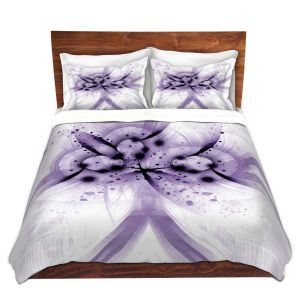 Artistic Duvet Covers and Shams Bedding | Angelina Vick - God Particle 2 | abstract digital pattern