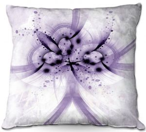 Throw Pillows Decorative Artistic | Angelina Vick - God Particle 2 | abstract digital pattern