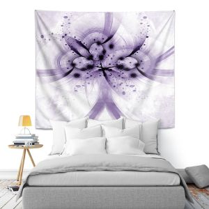Artistic Wall Tapestry | Angelina Vick - God Particle 2 | abstract digital pattern