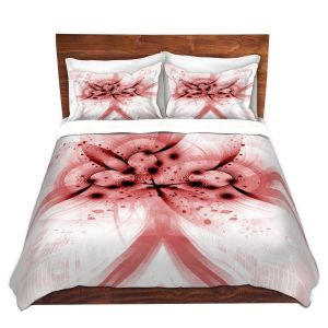 Artistic Duvet Covers and Shams Bedding | Angelina Vick - God Particle 3 | abstract digital pattern