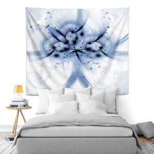 Artistic Wall Tapestry | Angelina Vick - God Particle 4 | abstract digital pattern