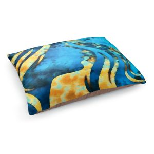 Decorative Dog Pet Beds | Angelina Vick - Goodbye Blue | profile face silhouette