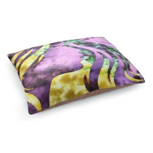 Decorative Dog Pet Beds | Angelina Vick - Goodbye Purple | profile face silhouette