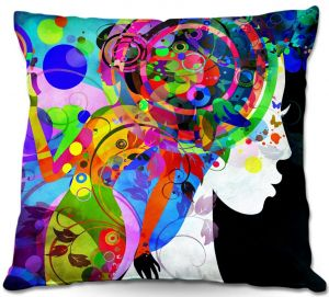 Decorative Outdoor Patio Pillow Cushion | Angelina Vick - Grace is Complicated