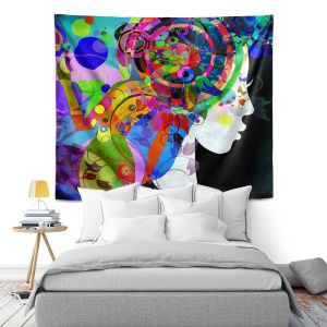 Artistic Wall Tapestry   Angelina Vick Grace is Complicated