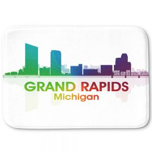 Decorative Bathroom Mats | Angelina Vick - City I Grand Rapids Michigan