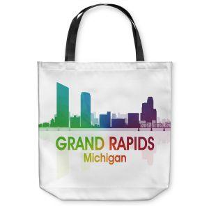 Unique Shoulder Bag Tote Bags   Angelina Vick - City I Grand Rapids Michigan