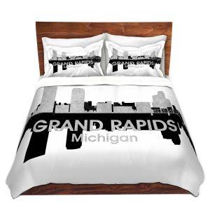 Artistic Duvet Covers and Shams Bedding | Angelina Vick - City IV Grand Rapids Michigan