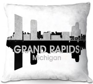 Throw Pillows Decorative Artistic | Angelina Vick - City IV Grand Rapids Michigan