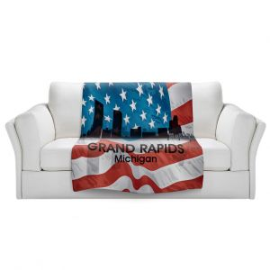 Artistic Sherpa Pile Blankets | Angelina Vick - City VI Grand Rapids Michigan