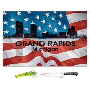 Artistic Kitchen Bar Cutting Boards | Angelina Vick - City VI Grand Rapids Michigan