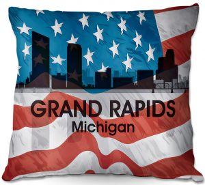 Throw Pillows Decorative Artistic   Angelina Vick - City VI Grand Rapids Michigan