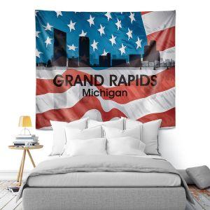Artistic Wall Tapestry | Angelina Vick - City VI Grand Rapids Michigan