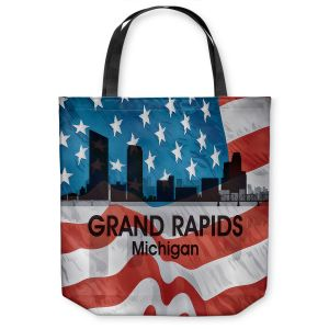 Unique Shoulder Bag Tote Bags  Angelina Vick - City VI Grand Rapids Michigan