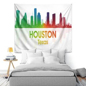 Artistic Wall Tapestry | Angelina Vick - City I Houston Texas