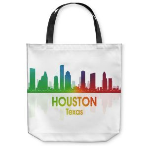 Unique Shoulder Bag Tote Bags | Angelina Vick - City I Houston Texas