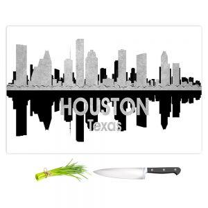 Artistic Kitchen Bar Cutting Boards | Angelina Vick - City IV Houston Texas