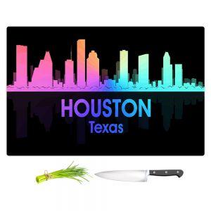 Artistic Kitchen Bar Cutting Boards | Angelina Vick - City V Houston Texas