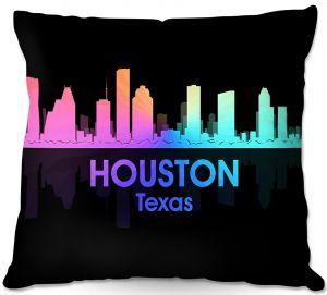 Decorative Outdoor Patio Pillow Cushion | Angelina Vick - City V Houston Texas