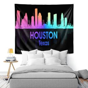 Artistic Wall Tapestry | Angelina Vick - City V Houston Texas