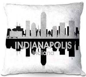 Decorative Outdoor Patio Pillow Cushion | Angelina Vick - City IV Indianapolis Indiana