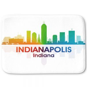 Decorative Bathroom Mats | Angelina Vick - City I Indianapolis Indiana