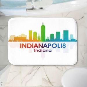 Decorative Bathroom Mats | Angelina Vick - City I Indianapolis Indiana