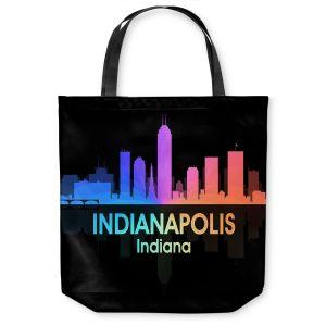 Unique Shoulder Bag Tote Bags   Angelina Vick - City V Indianapolis Indiana