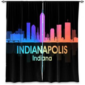 Decorative Window Treatments | Angelina Vick - City V Indianapolis Indiana
