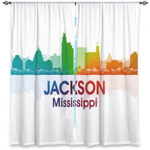 Decorative Window Treatments | Angelina Vick - City I Jackson Mississippi