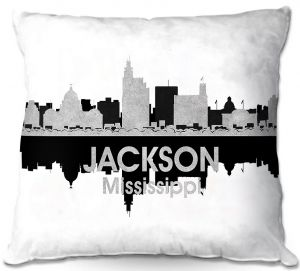 Decorative Outdoor Patio Pillow Cushion | Angelina Vick - City IV Jackson Mississippi