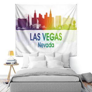 Artistic Wall Tapestry | Angelina Vick - City I Las Vegas Nevada