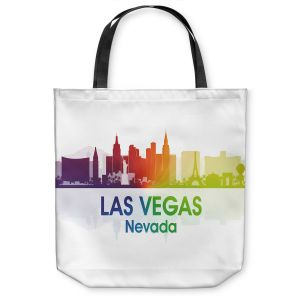 Unique Shoulder Bag Tote Bags | Angelina Vick - City I Las Vegas Nevada