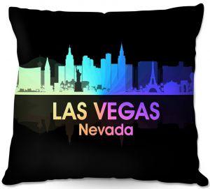 Decorative Outdoor Patio Pillow Cushion | Angelina Vick - City V Las Vegas Nevada