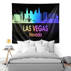 Artistic Wall Tapestry | Angelina Vick - City V Las Vegas Nevada