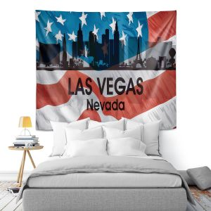Artistic Wall Tapestry | Angelina Vick - City VI Las Vegas Nevada
