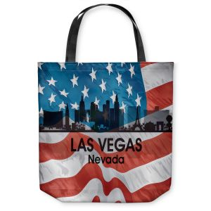 Unique Shoulder Bag Tote Bags |Angelina Vick - City VI Las Vegas Nevada