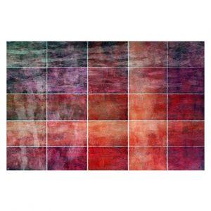 Decorative Floor Covering Mats   Angelina Vick - Lava Shades   Abstract shapes rectangle