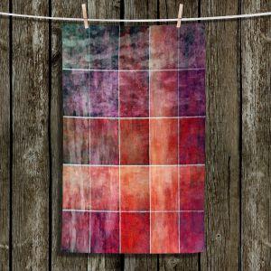 Unique Bathroom Towels | Angelina Vick - Lava Shades | Abstract shapes rectangle