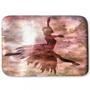 Decorative Bathroom Mats | Angelina Vick - Learning The Steps 2 | silhouette ballerina dancer