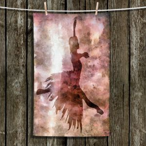 Unique Hanging Tea Towels | Angelina Vick - Learning The Steps 2 | silhouette ballerina dancer