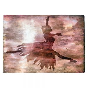 Countertop Place Mats | Angelina Vick - Learning The Steps 2 | silhouette ballerina dancer