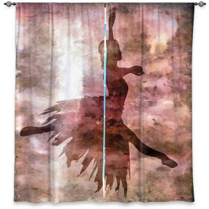 Decorative Window Treatments | Angelina Vick - Learning The Steps 2 | silhouette ballerina dancer