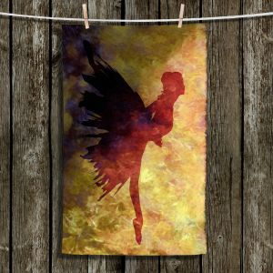 Unique Hanging Tea Towels | Angelina Vick - Learning The Steps 5 | silhouette ballerina dancer