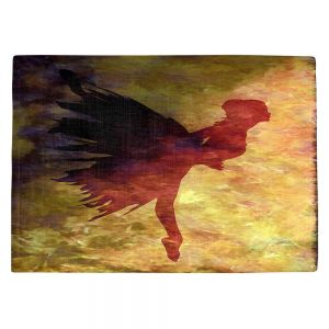 Countertop Place Mats | Angelina Vick - Learning The Steps 5 | silhouette ballerina dancer