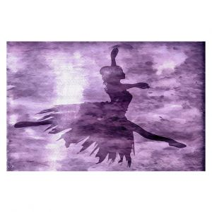 Decorative Floor Covering Mats | Angelina Vick - Learning The Steps 6 | silhouette ballerina dancer