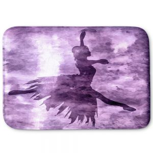 Decorative Bathroom Mats | Angelina Vick - Learning The Steps 6 | silhouette ballerina dancer