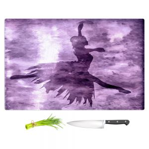 Artistic Kitchen Bar Cutting Boards | Angelina Vick - Learning The Steps 6 | silhouette ballerina dancer